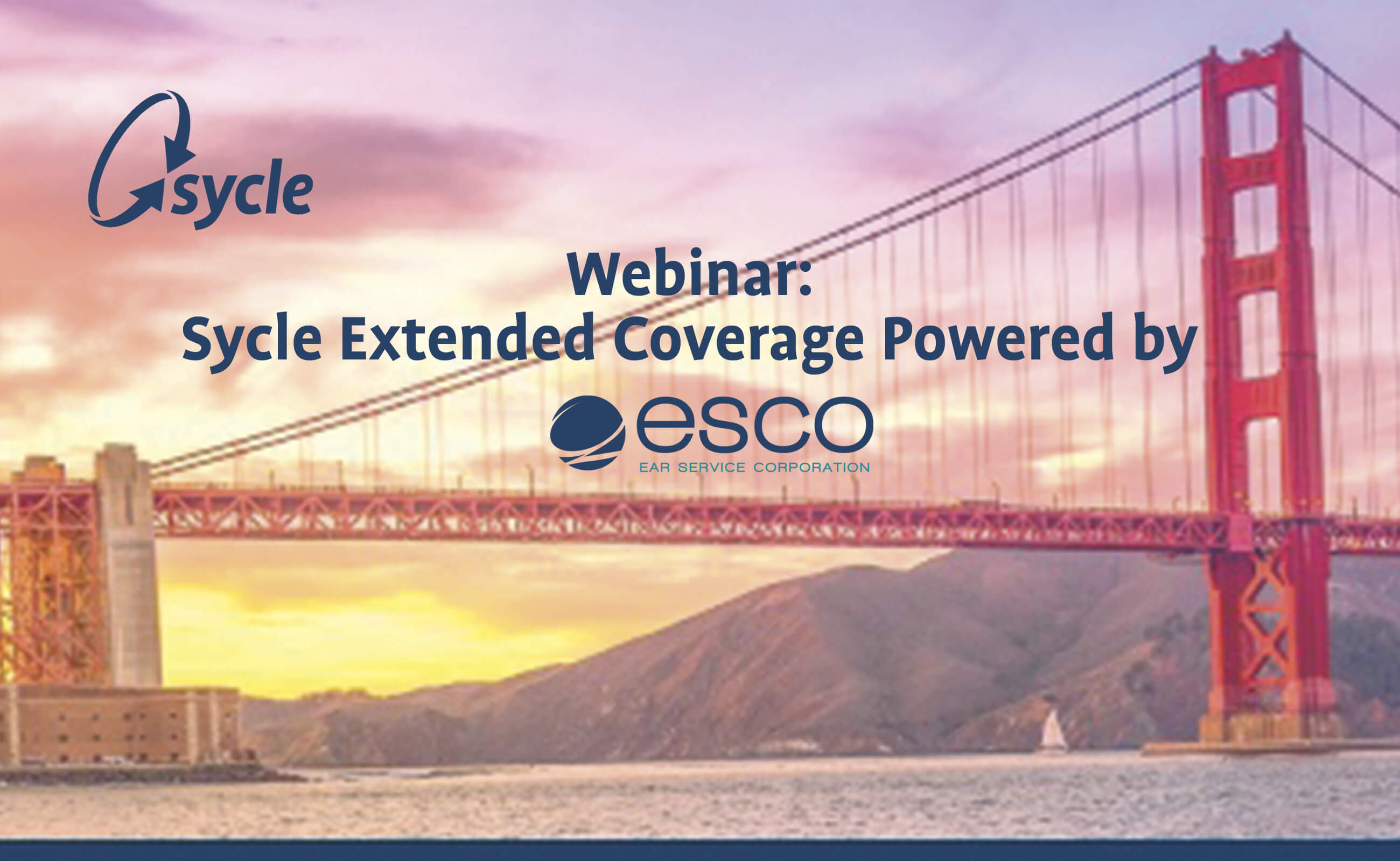 Webinar Recording: Sycle Extended Coverage, Powered by ESCO image