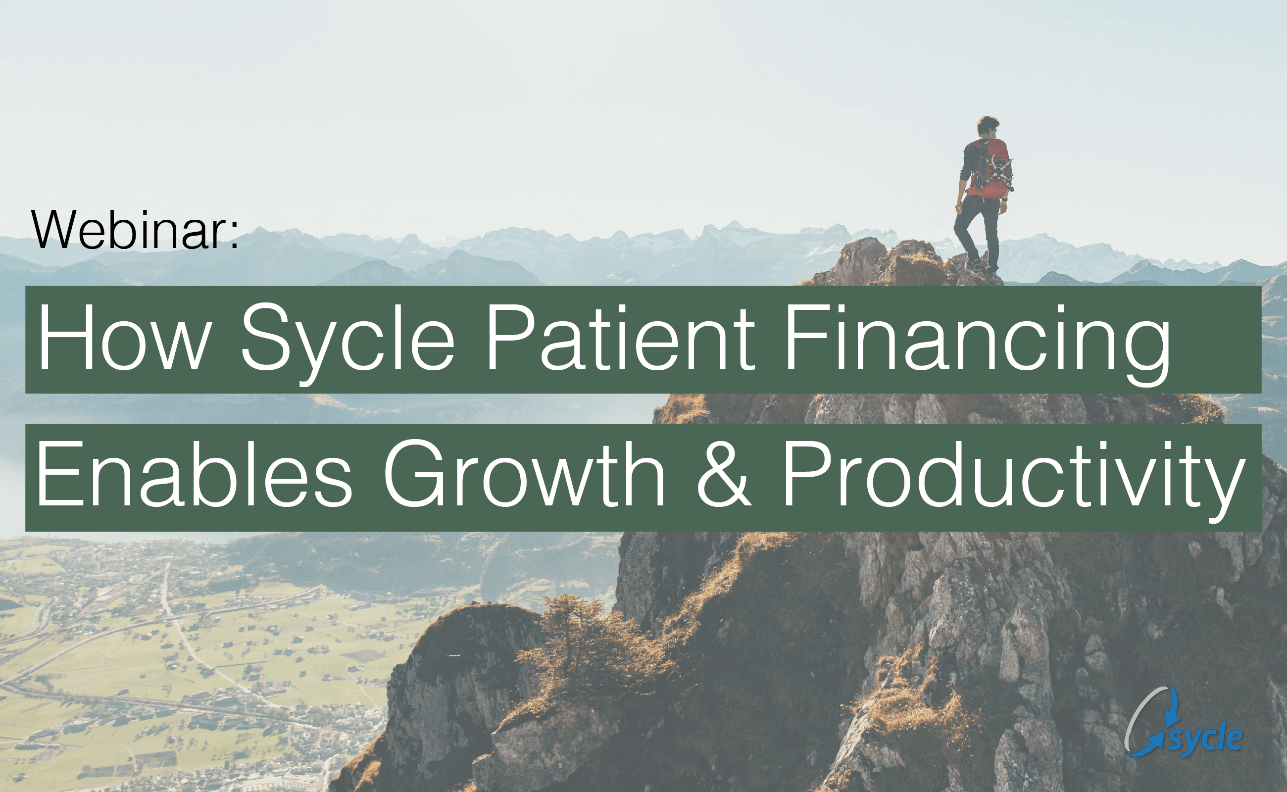 Webinar Recording: How Sycle Patient Financing Enables Growth & Productivity image