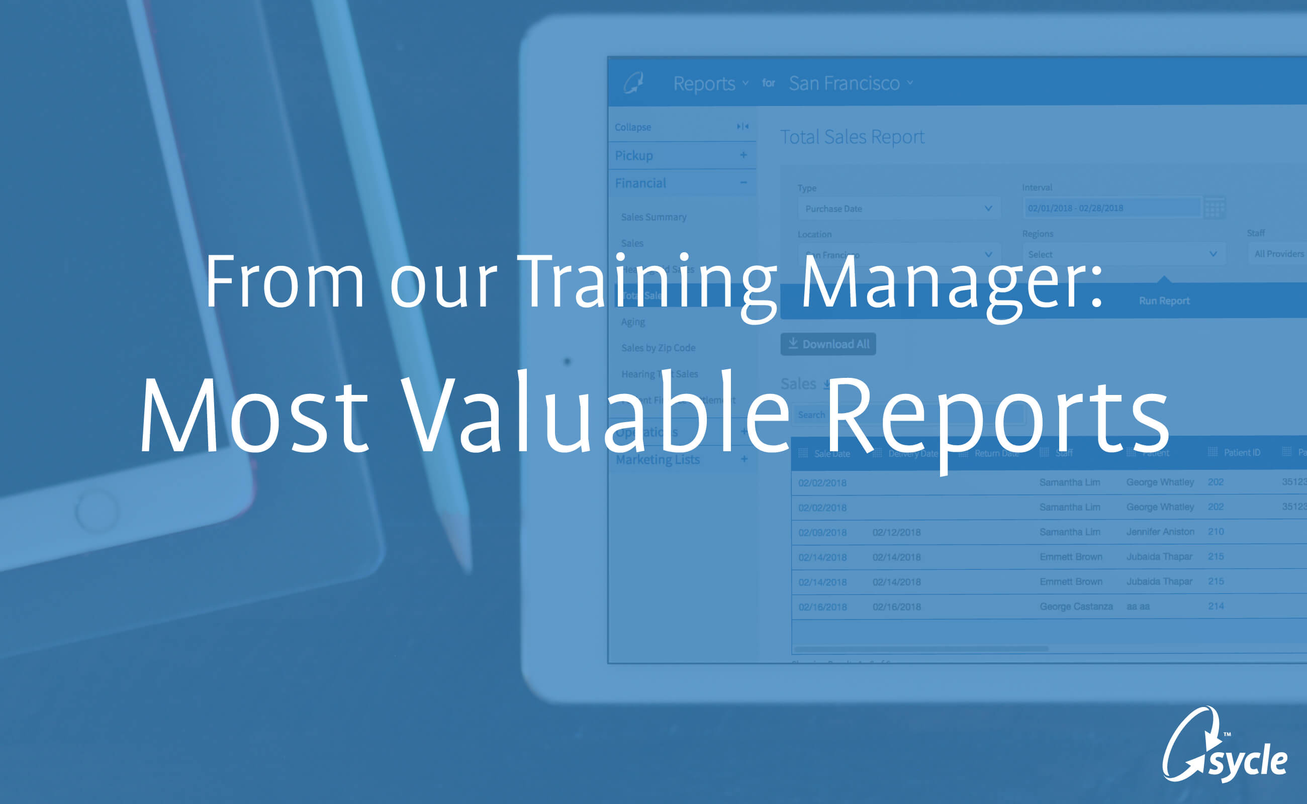Reports You Need to Make Sure Your Practice is Measuring Up image