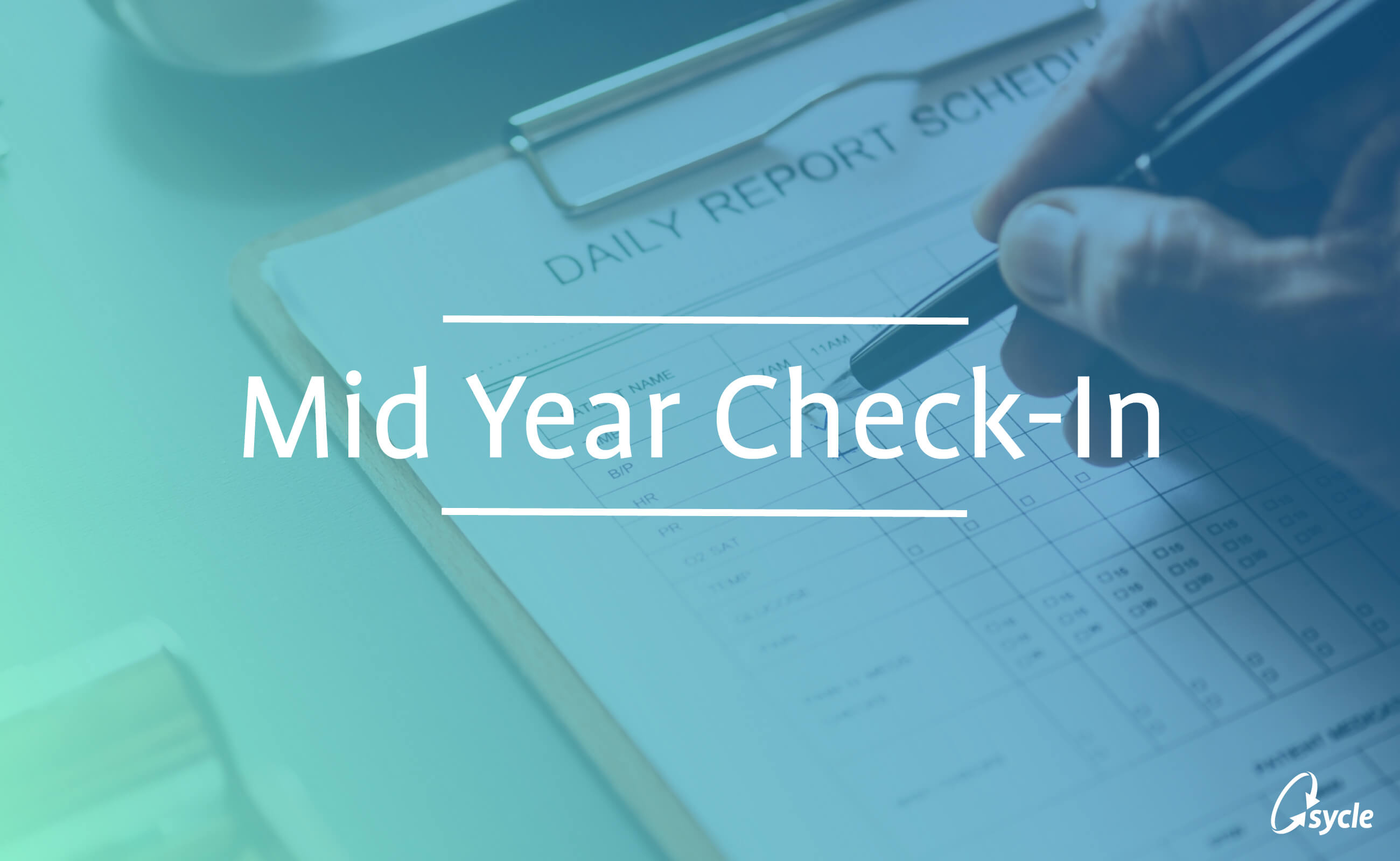 A Mid-Year Goal Check with Sycle image