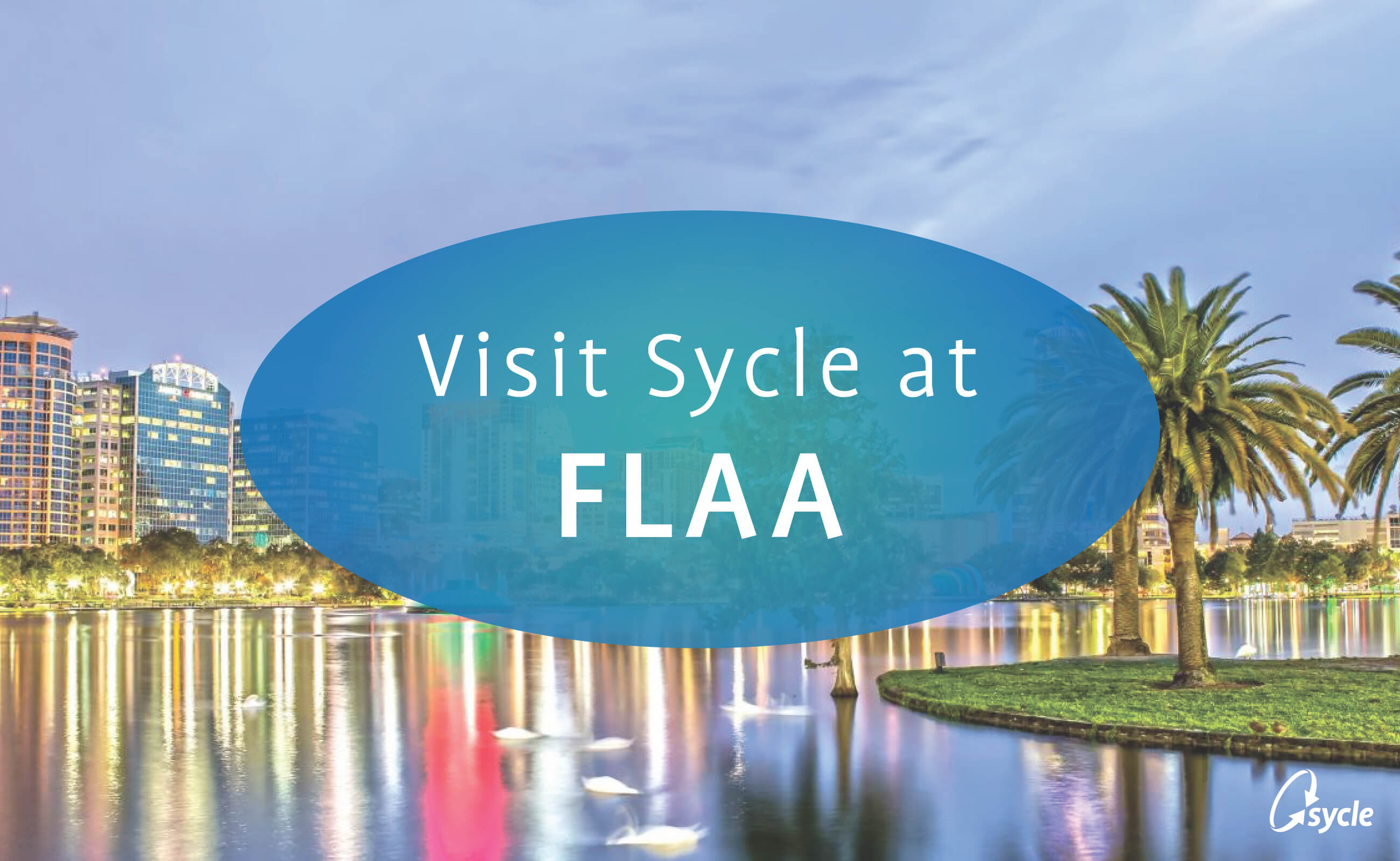 Join Sycle at FLAA August 2-3, 2018 image