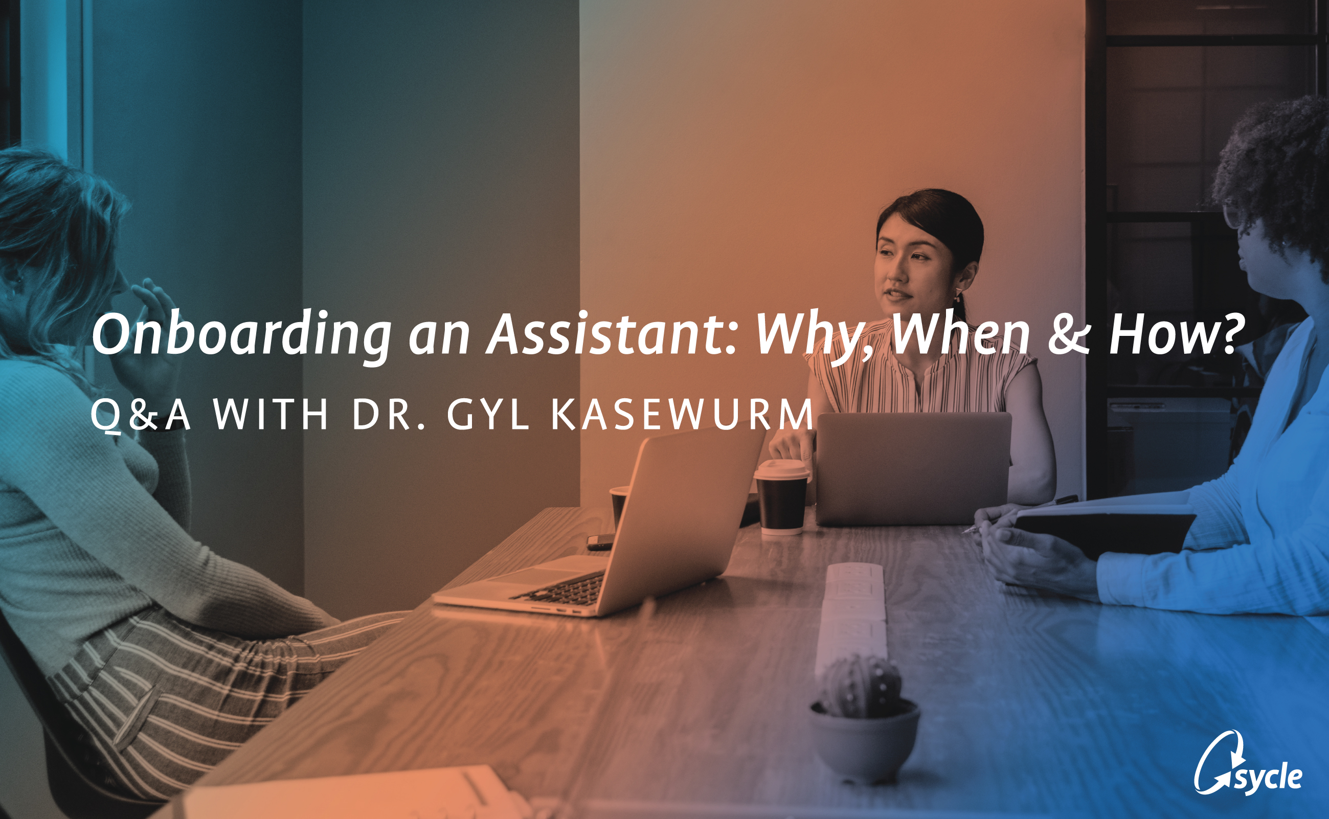 Why hire an assistant? image
