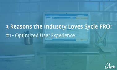 3 Reasons The Industry Loves Sycle PRO – Optimized User Experience image
