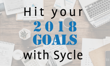 Hit your goals by the end of the year with Sycle image