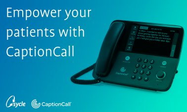 CaptionCall Now Integrated Within Sycle image