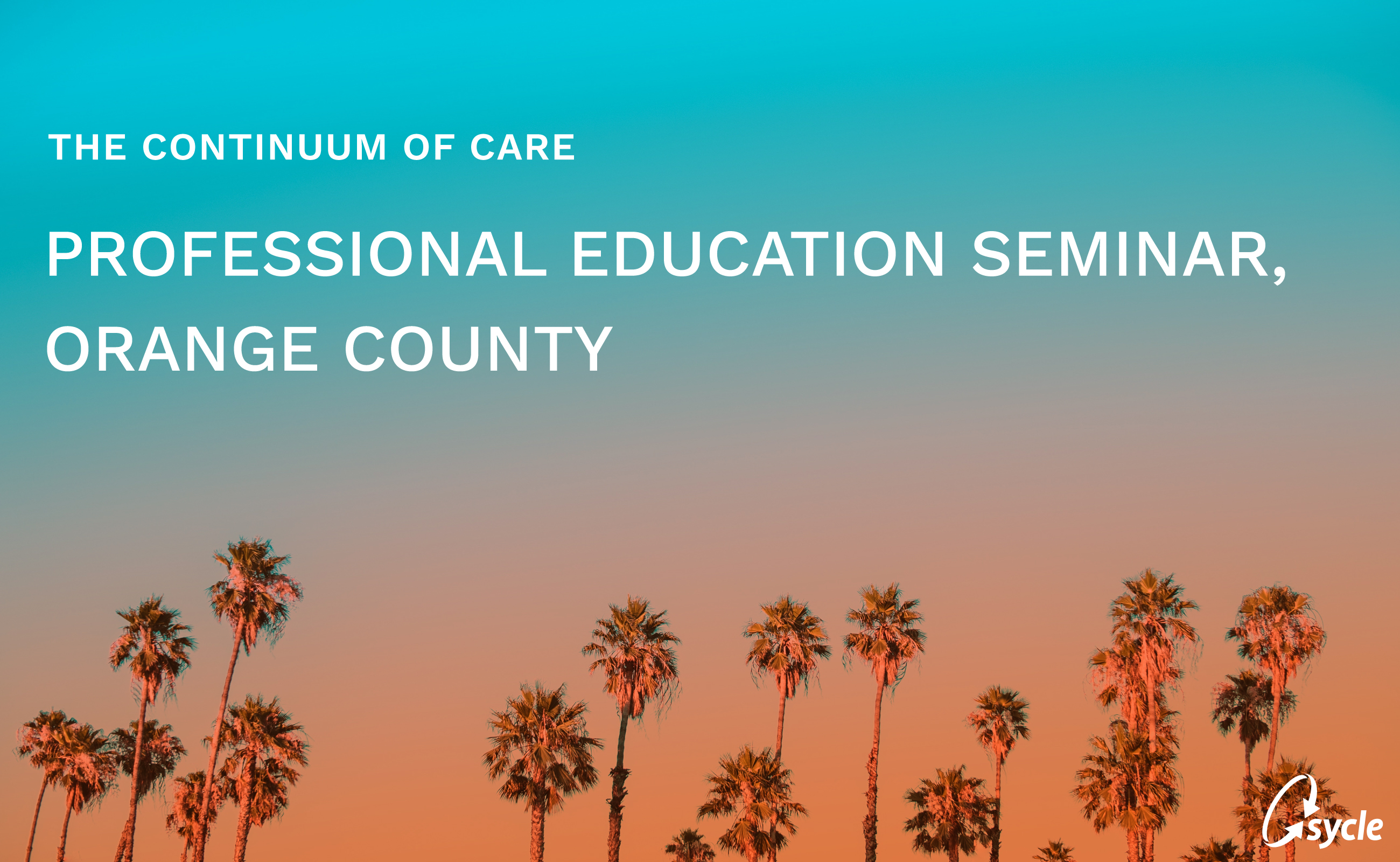 A Recap: Professional Education Seminar, Orange County image