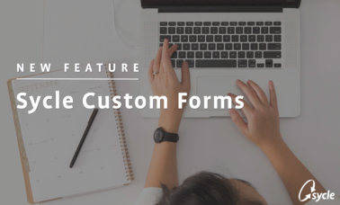 [WEBINAR] NEW FEATURE: Sycle Custom Forms image